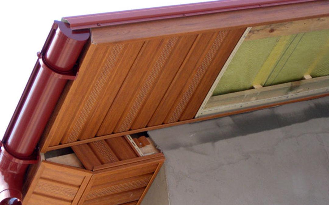 Софиты — завершающий элемент крыши. Основные характеристики